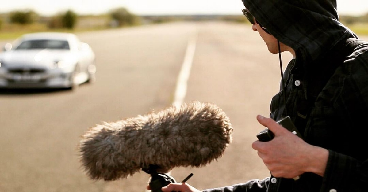 Enos Desjardins field recording car
