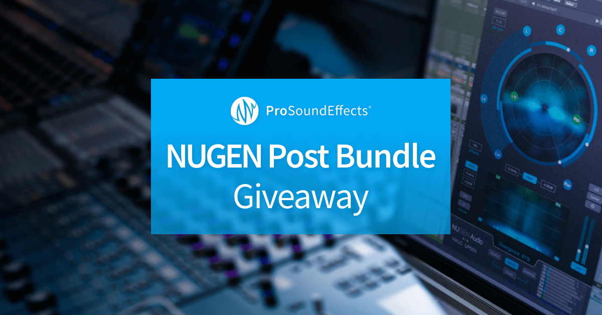 NUGEN Post Bundle Giveaway