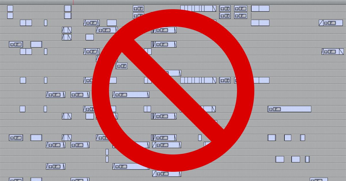 Disorganized Tracks