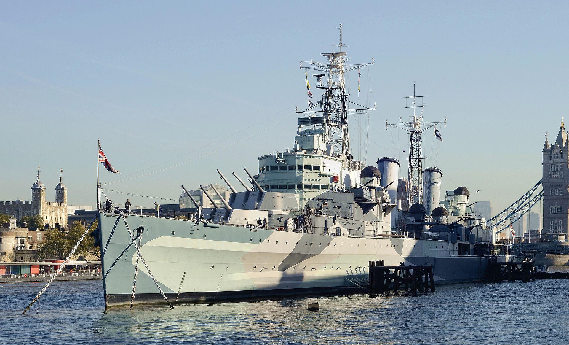HMS Belfast | Credit: Alvesgaspar - Own work