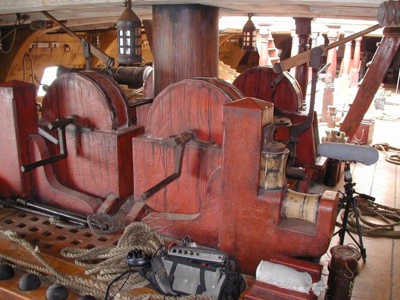 HMS Surprise chain pump_2