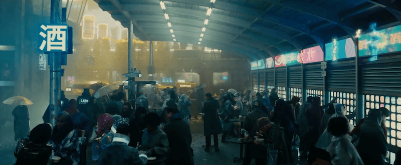 Blade Runner 2049 City Exterior