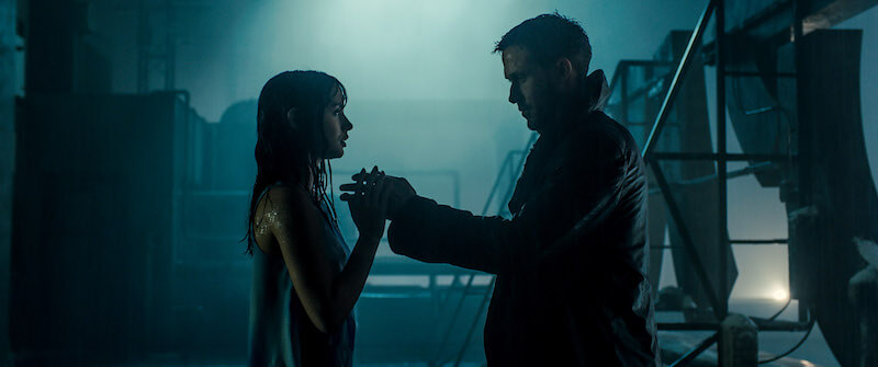Blade Runner 2049 Rain Rooftop