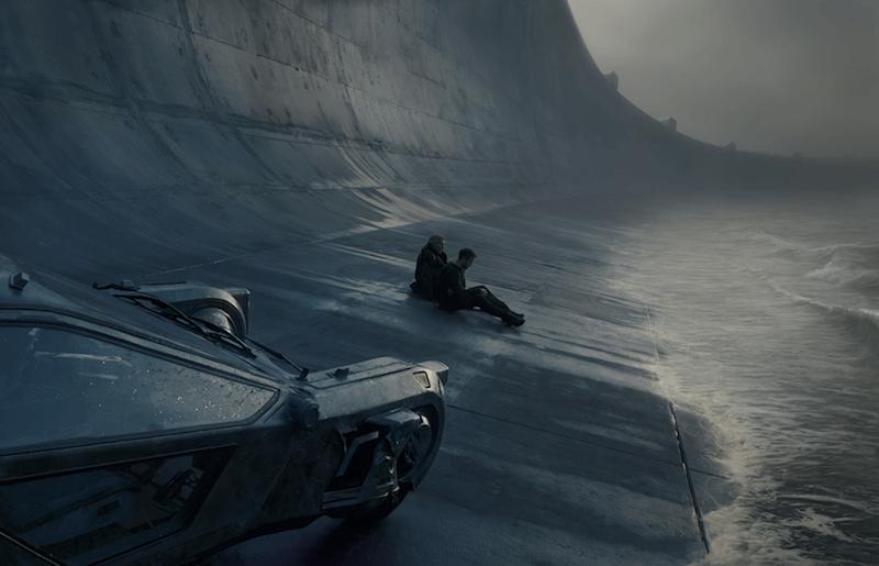 Blade Runner 2049 Sea Wall