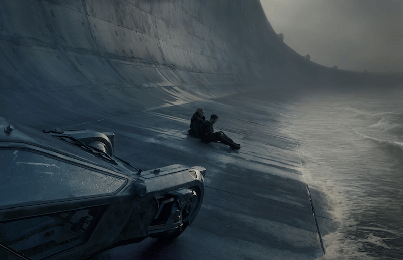Blade Runner 2049 Sea Wall