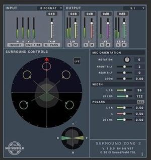 SurroundZone2 Software