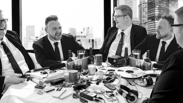 Will & Craig feasting on audio gear