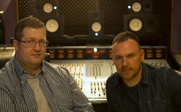 Will and studio partner, Craig Connor