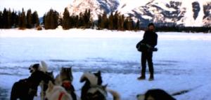 Alan Splet recording in Alaska