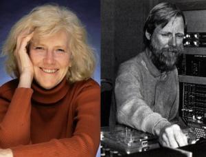 Ann Kroeber and Alan Splet