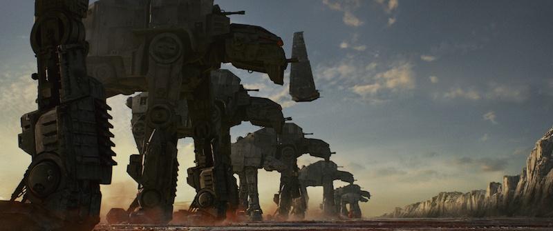 Star Wars: The Last Jedi - AT-M6 Walkers