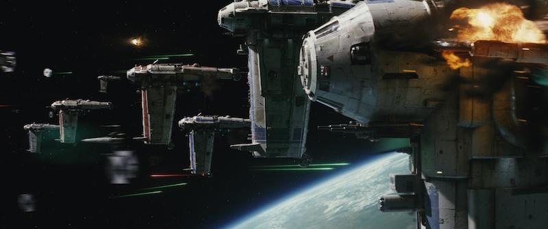 Star Wars: The Last Jedi - B/SF-17 Heavy Bomber