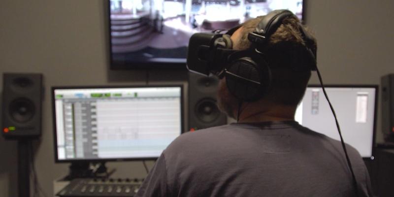 VR Audio Headset Studio