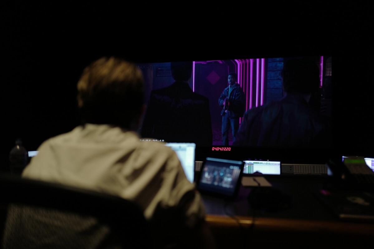 Joseph Fraioli in the studio for Kin