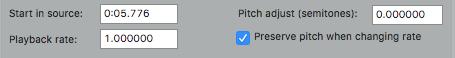 Reaper_Pitch Adjustment