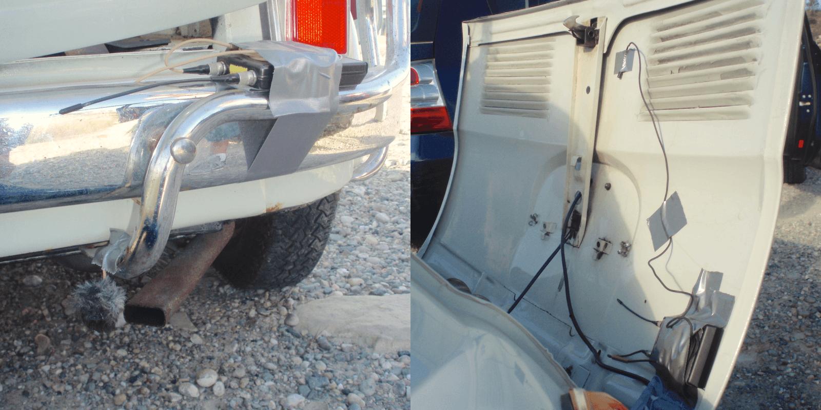 Odyssey Vehicles - Fiat Mic Setup