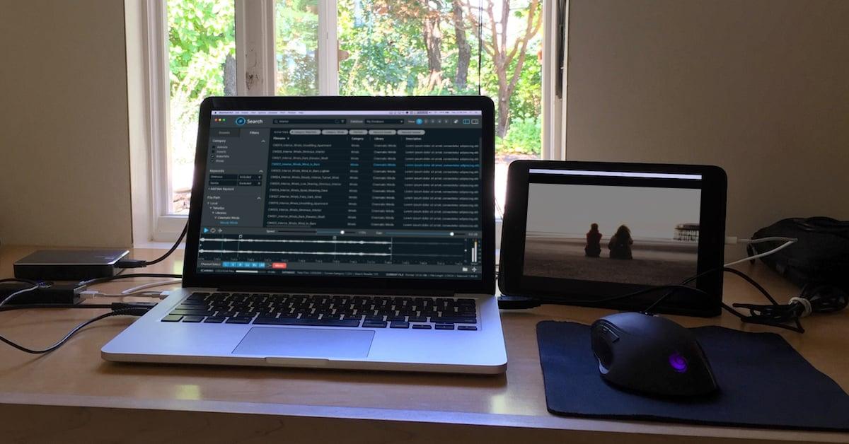 Remote Sound Editing Setup
