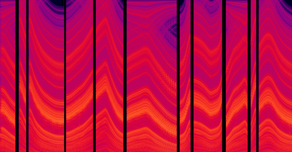 The spectacular spectrograms of The Odyssey Collection