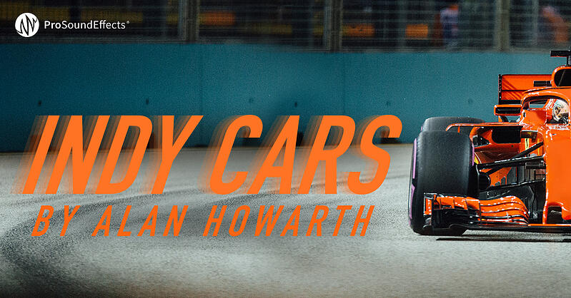 Indy Cars by Alan Howarth