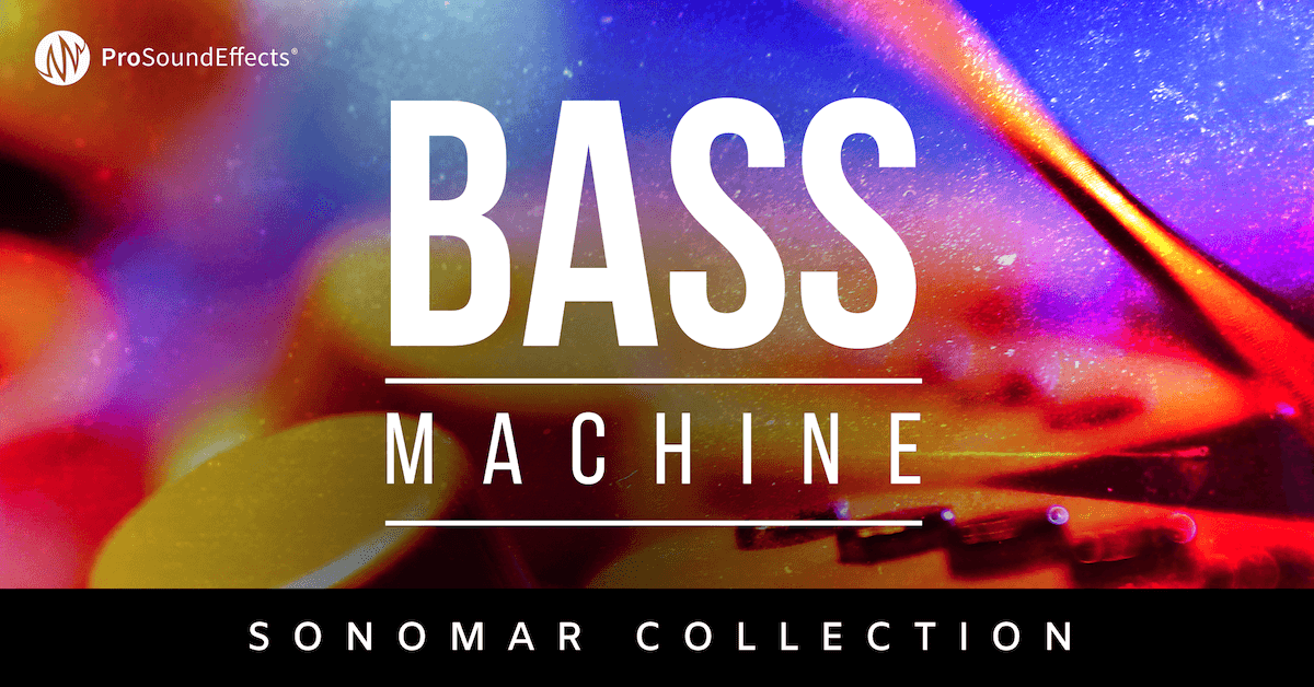 Sonomar Collection Bass Machine