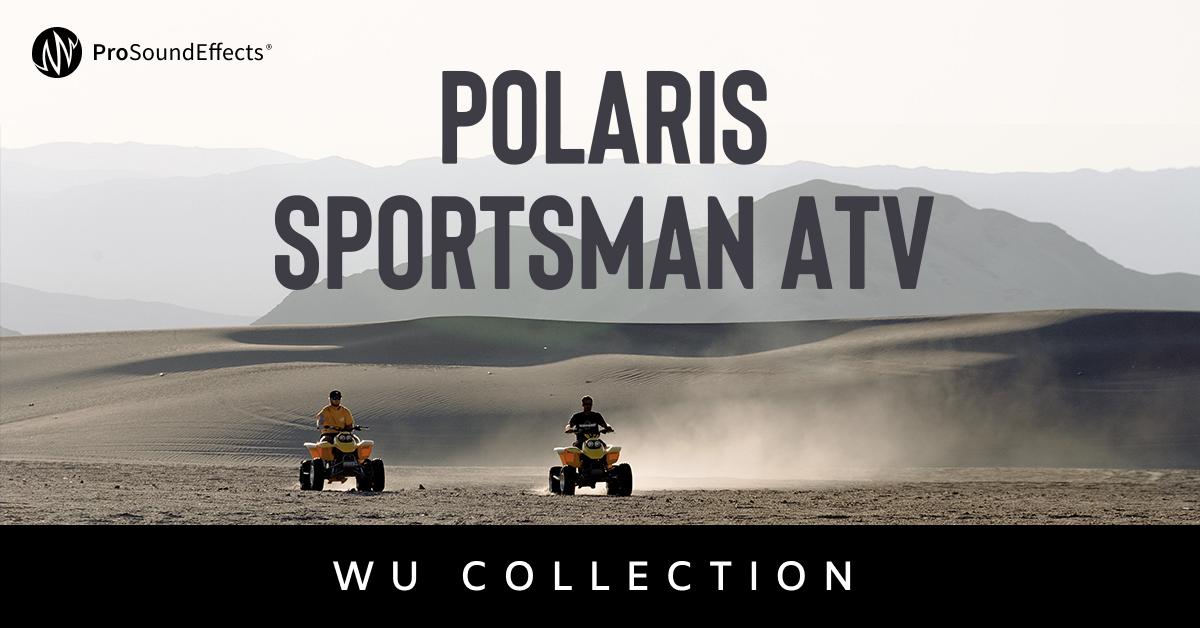 Wu Collection: Polaris Sportsman ATV