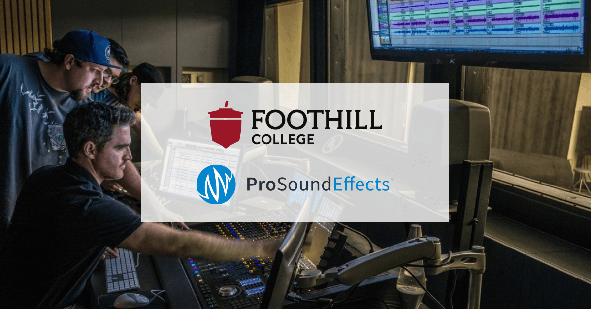 Foothill College Pro Sound Effects