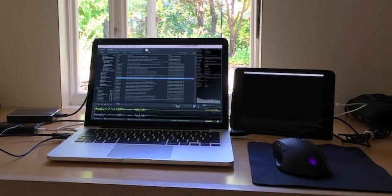 Portable Sound Editing Rig